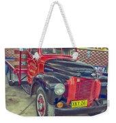 International Vintage Truck Weekender Tote Bag