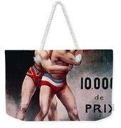 International Wrestling Championship Weekender Tote Bag