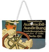 Internationale Automobile Ausftellung Weekender Tote Bag