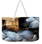 Interpretative Wrangling Weekender Tote Bag