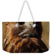 Red Tailed Hawk Portrait Weekender Tote Bag