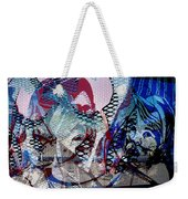 Interstate 10- Exit 261- 6th Ave Overpass- Rectangle Remix Weekender Tote Bag