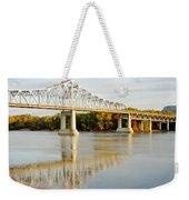 Interstate Bridge In Winona Weekender Tote Bag