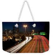 Interstate Traffic In Seattle Washington Weekender Tote Bag