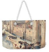 Interview Of Aigues-mortes Weekender Tote Bag