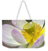 Intimate Sacred Lotus Bloom Weekender Tote Bag