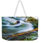 Intimate With River Weekender Tote Bag