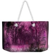Into A Dark Pink Forest Weekender Tote Bag