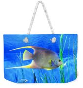 Into Blue - Tropical Fish By Sharon Cummings Weekender Tote Bag