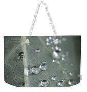 Into Every Life A Little Rain Must Fall Weekender Tote Bag