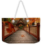 Into The Autumn Weekender Tote Bag