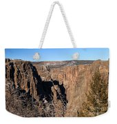Into The Black Canyon Weekender Tote Bag