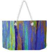 Into The Blue Abstract 2 Weekender Tote Bag