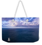 Into The Blues Weekender Tote Bag