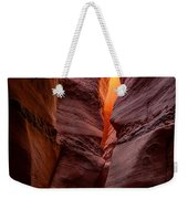 Into The Cravasse Weekender Tote Bag