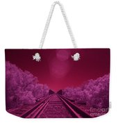 Into The Darkness Of Light Weekender Tote Bag
