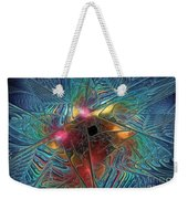 Into The Galaxy Weekender Tote Bag
