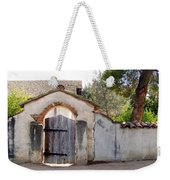 Into The Light, Mission San Miguel Archangel, California Weekender Tote Bag