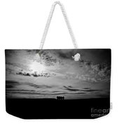 Into The Void Weekender Tote Bag