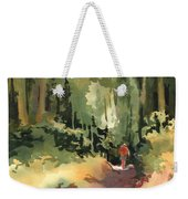 Into The Wild Weekender Tote Bag by Kris Parins