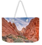 Into Valley Of Fire Weekender Tote Bag