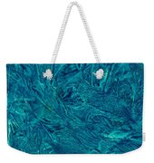 Intricate Blue Weekender Tote Bag