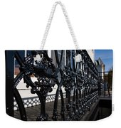 Intricate Georgetown Shapes And Shadows - Washington D C  Weekender Tote Bag