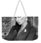 Intrigue Bw Fashion Weekender Tote Bag