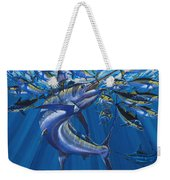 Intruder Off003 Weekender Tote Bag by Carey Chen