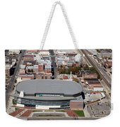 Intrust Bank Arena And Old Town Wichita Weekender Tote Bag