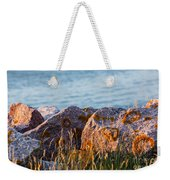 Inverness Beach Rocks  Weekender Tote Bag