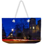 Inverness Cathedral At Night Weekender Tote Bag