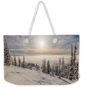 Inversion Sunset Weekender Tote Bag