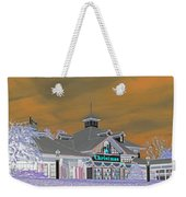 Invert Of The Apple Barn's Christmas Shop In Pigeon Forge Tennessee Weekender Tote Bag