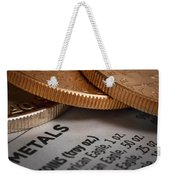 Investments Weekender Tote Bag