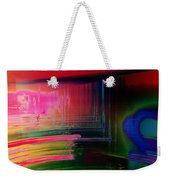 Invisible Collision Weekender Tote Bag