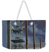 Invisible Industry Weekender Tote Bag
