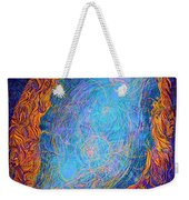 Invisible Life. Love Weekender Tote Bag