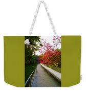 Inviting Garden Alley Weekender Tote Bag