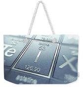 Iodine Chemical Element Weekender Tote Bag