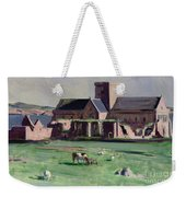 Iona Abbey From The Northwest Weekender Tote Bag