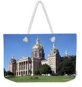 Iowa State Capitol Des Moines Weekender Tote Bag