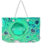 Iphone Case - Aqua Glassy Buttons Weekender Tote Bag