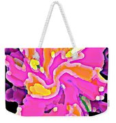 Iphone Cases Colorful Flowers Abstract Roses Gardenias Tiger Lily Florals Carole Spandau Cbs Art 183 Weekender Tote Bag