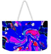 Iphone Cases Colorful Flowers The Blue Dahlia Abstract Floral Art Carole Spandau Cbs Exclusives 184 Weekender Tote Bag