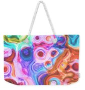 Iphone Colorful Abstract Weekender Tote Bag