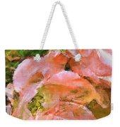 Iphone Pink Rose Digital Paint Weekender Tote Bag