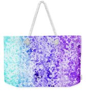 Iphone Purple And Blue Abstract Weekender Tote Bag