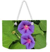 Ipomea Acuminata Morning Glory Weekender Tote Bag