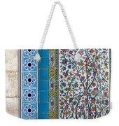 Iran Shiraz Tile And Fountain Weekender Tote Bag